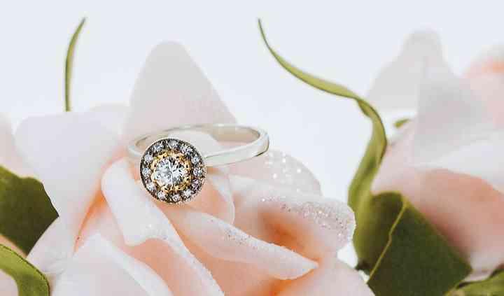 Custom design halo ring