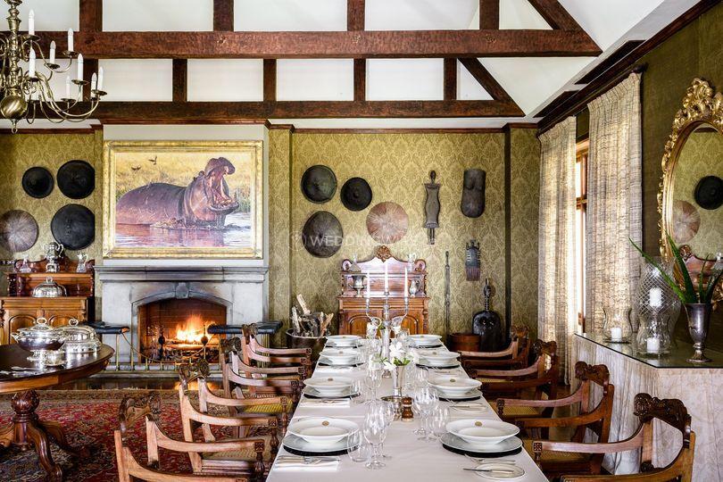 Dining room in Serengeti