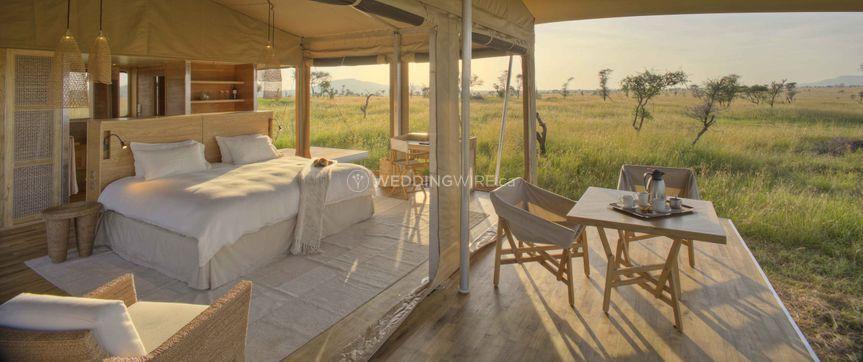 Honeymoon tent in Serengeti