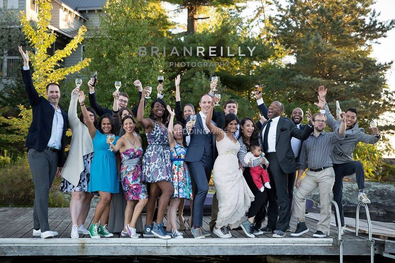 Waterdown, Ontario wedding party