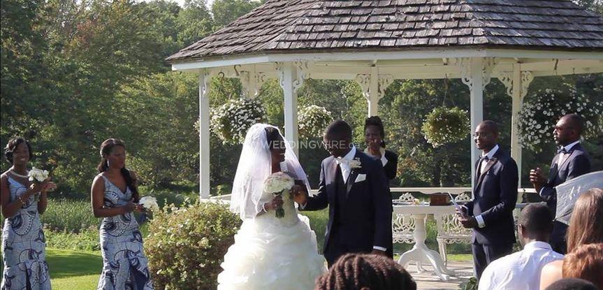 Wedding at Au Vieux Moulin