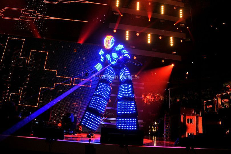 Mega Bots - LED Dancing Robot