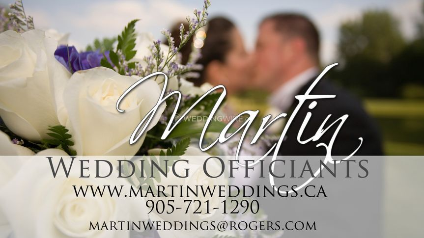 The Logo for Martin Weddings