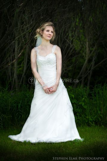 Waterdown, Ontario bride