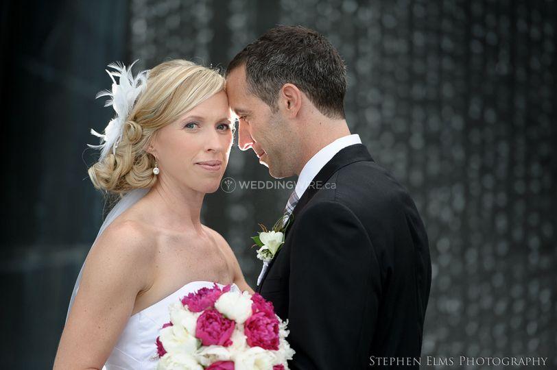 Waterdown, Ontario bride and groom