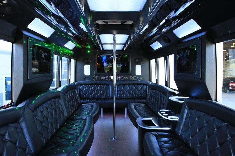 Edmonton Limo bus