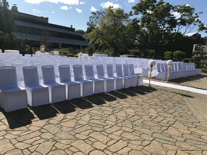 OUtside Ceremony (250 guests)