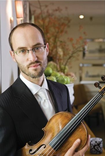Owner and violinist, Matthew