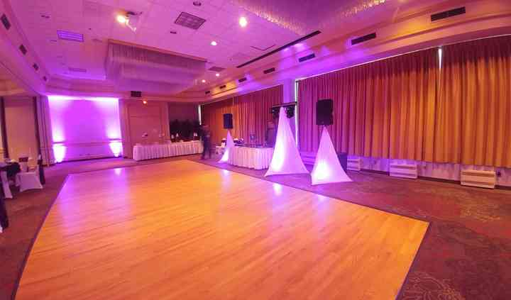 Lake City Ballroom dance floor