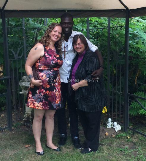 Holy Angels Weddings with Rev Deb Vaughan