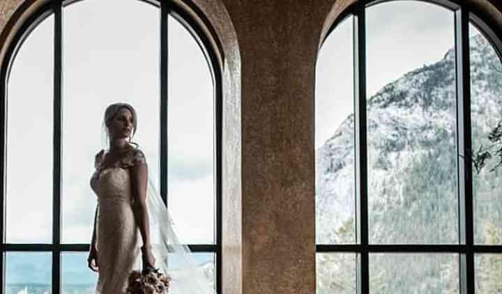 Banff springs bride