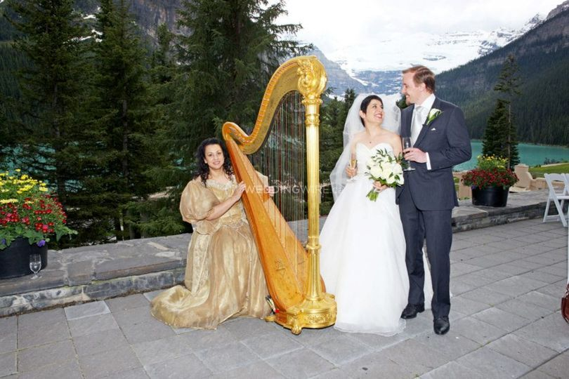 Harp Angel Wedding Music