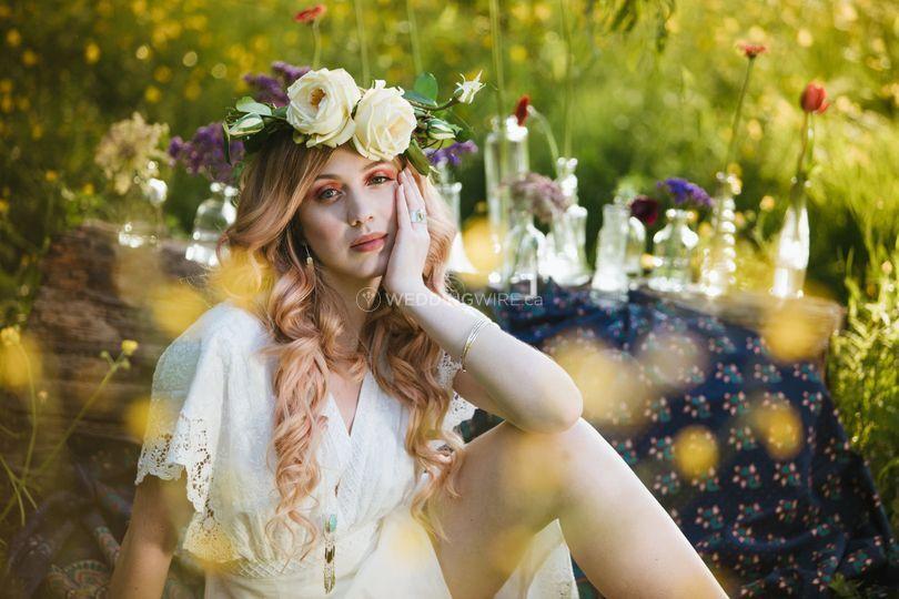 Langley bridal hairstylist