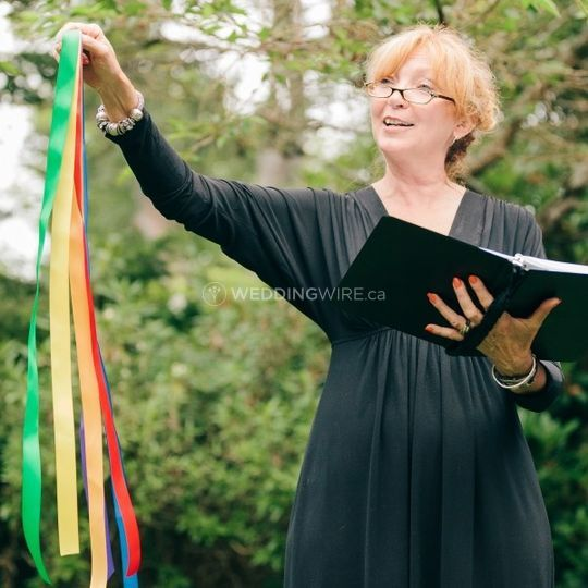 Barbara Densmore, Certified Celebrant & Wedding Officiant