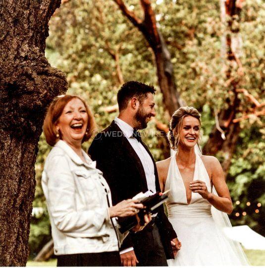 Barbara Densmore, Certified Celebrant & Wedding Officiant
