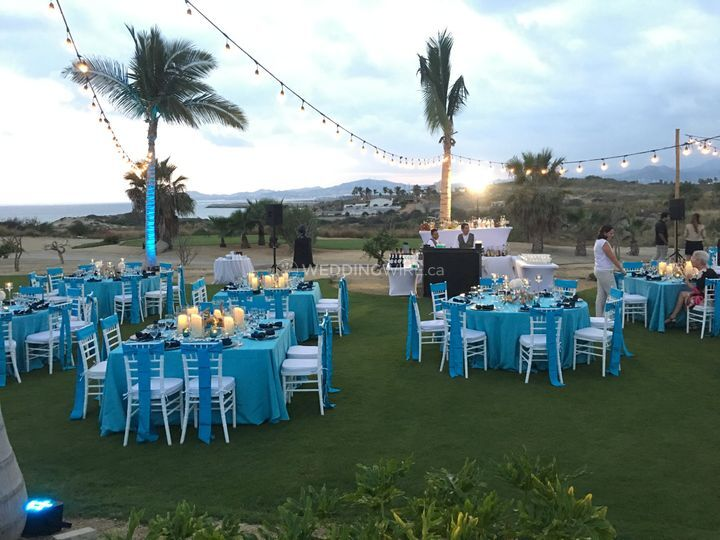 Secrets Reception - Ocean Blue