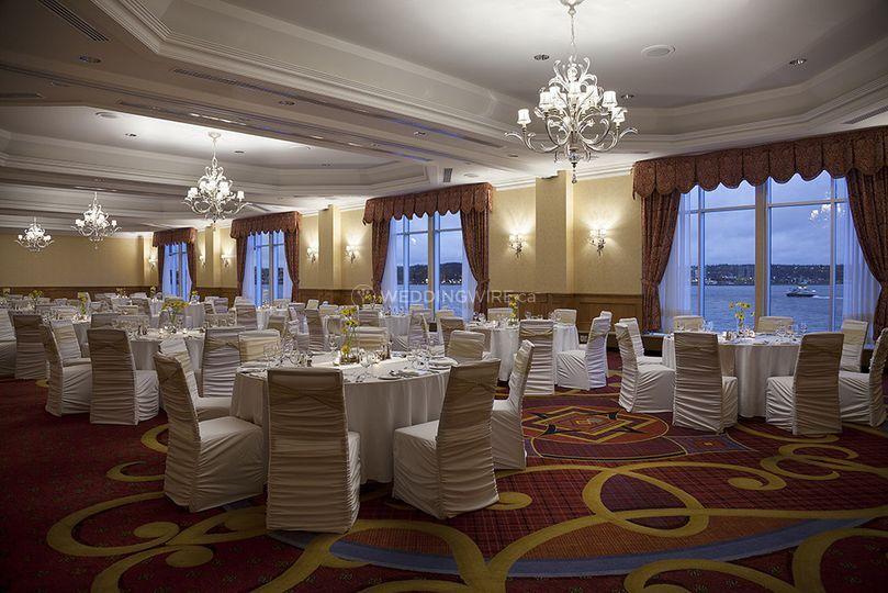 Halifax hotel wedding reception