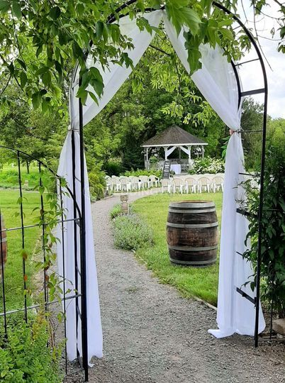Perfect setting for a Ceremony