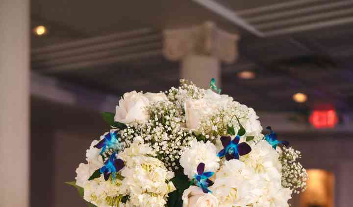 Centerpieces with Orchids