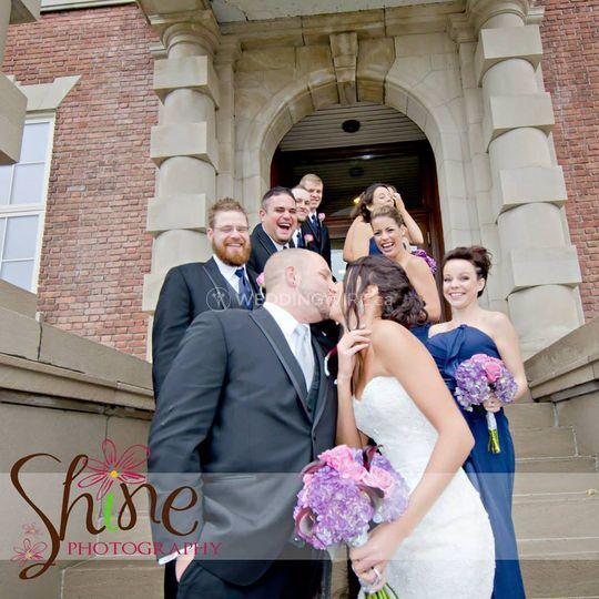 Rainy River, Ontario wedding ceremony