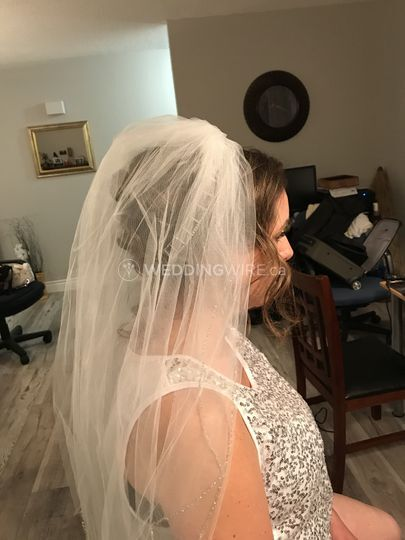 Veil from the side ...beauty