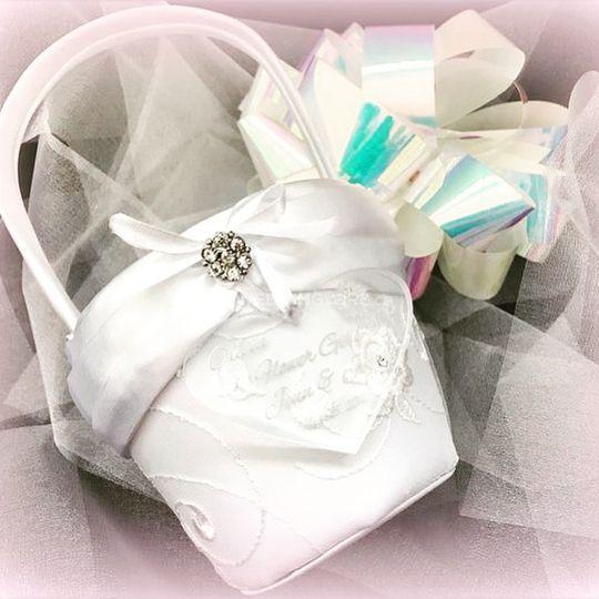 Personalized Flowergirl Basket