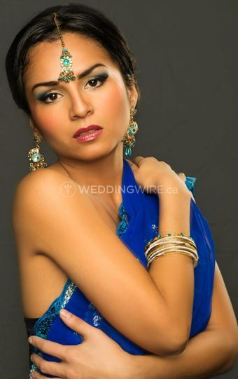 Indian bride photoshoot