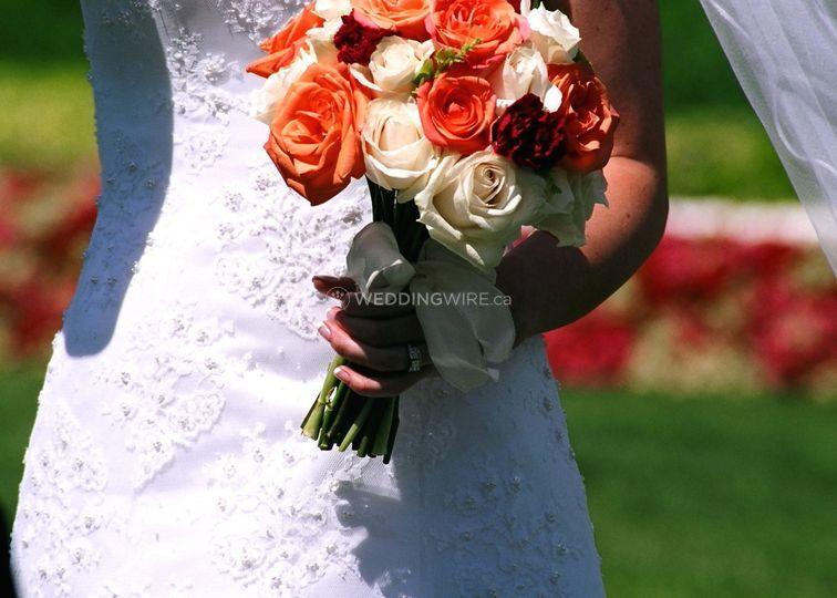 Flowers & White