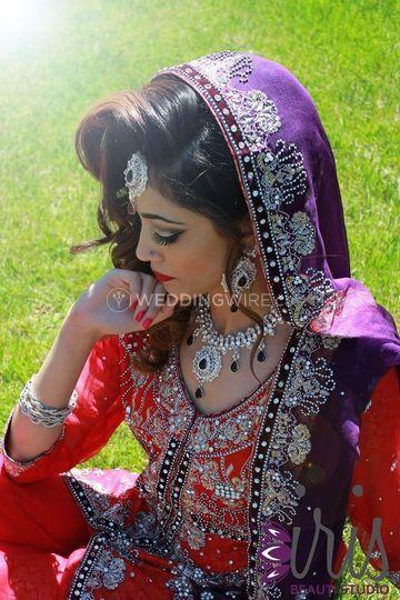 South Asian Bridal Look