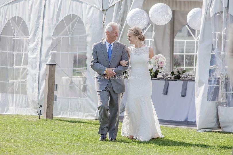 Sue Ann Staff Wedding
