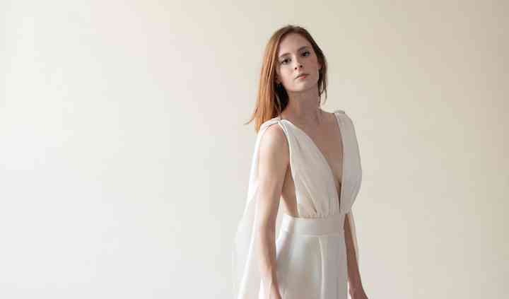 Custom Gown & Bridesmaid Dress