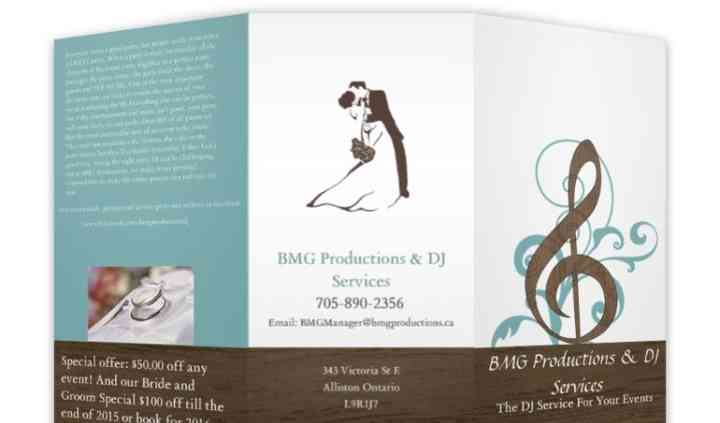 BMG Productions and DJ Services