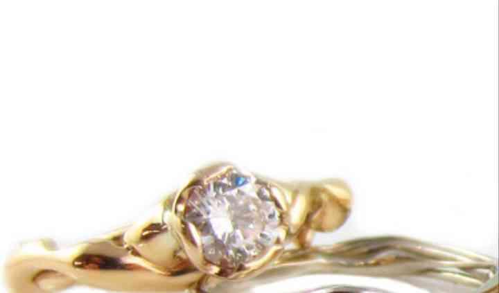 Diamond Free-flow Ring