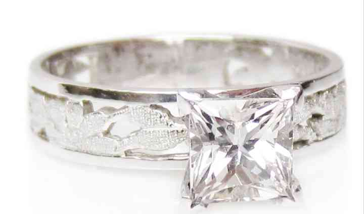 Princess Cut Diamond Wedding