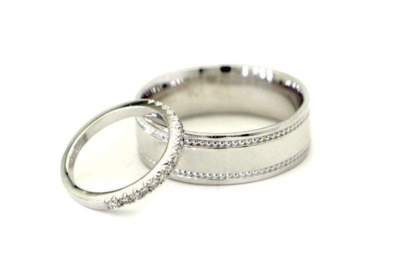 His/Hers Wedding Bands