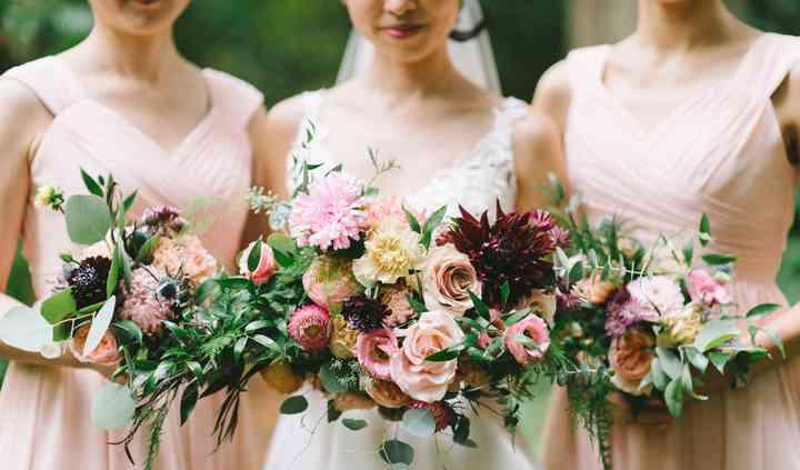 Bridal + Bridesmaids Bouquet