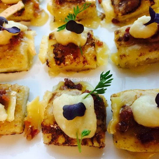 French Toast Canape