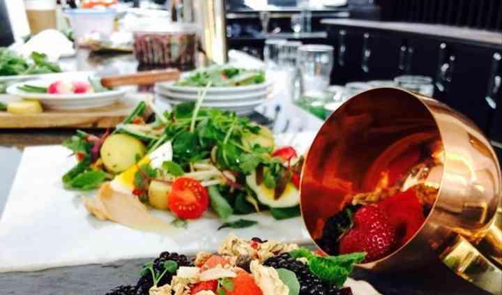 Granola Fruit Platter