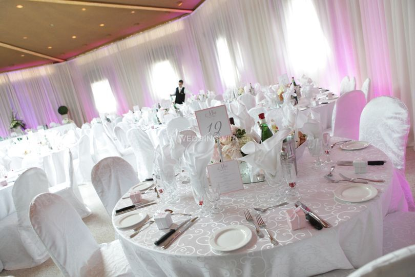 Quebec wedding reception
