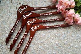 "Custom Bridal Accessories By Jenn aka ""The Hanger Lady"""