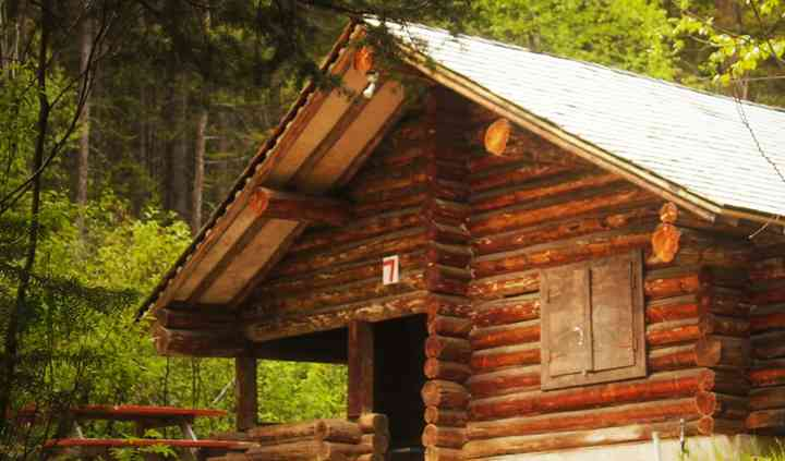 Cabin and Bunks