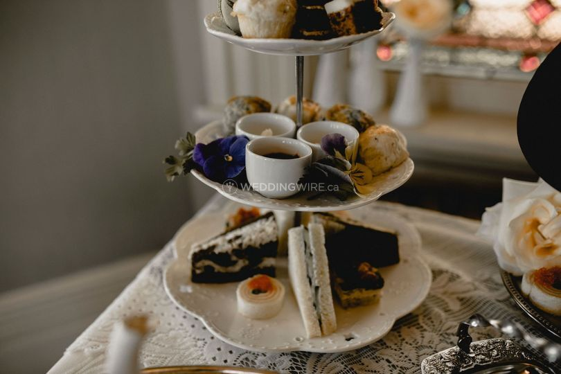 Afternoon Tea Wedding