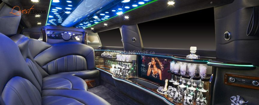 Luxurious Interior of Limo