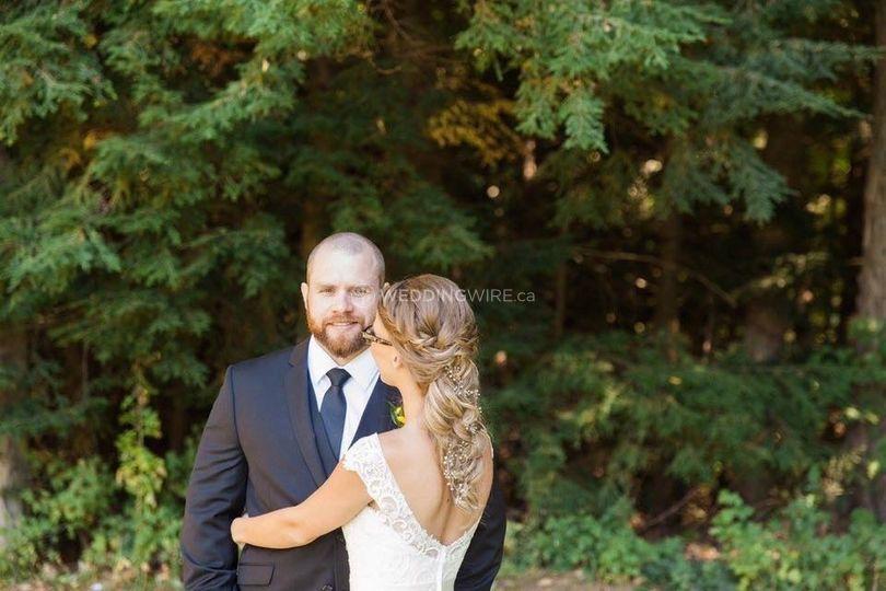 Bridal Updo (braid)