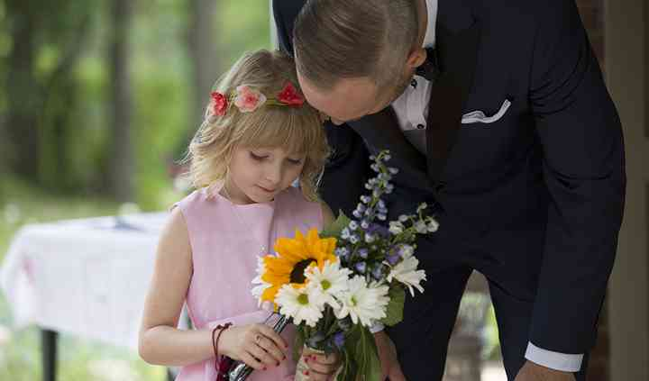 Girl at Wedding
