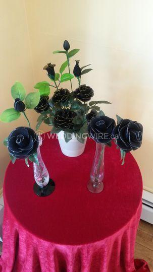 Rare Black Roses (Nylong)