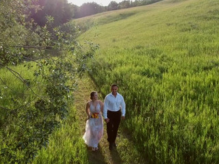 Drone Footage for wedding