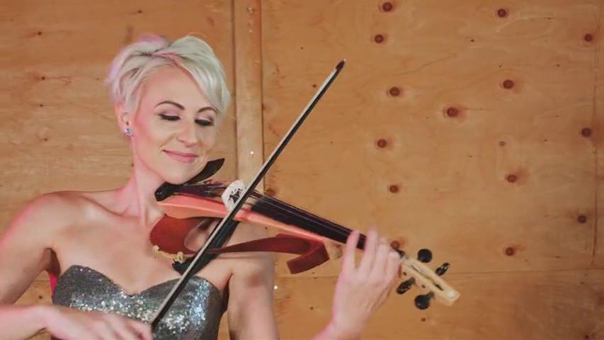 Ed Sheeran-Perfect - Megan Wedding Violinist - Video