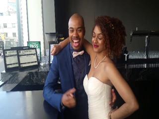 Chante & Dustin's wedding day