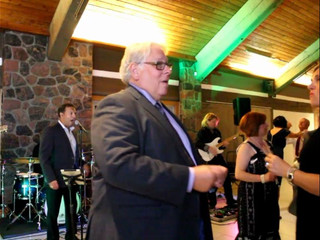 Ascension Groove Band performing at wedding in Kleinberg